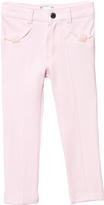 Mayoral Pink Jersey Trousers with Diamante Detail