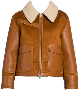Stella McCartney Faux Shearling-Trimmed Jacket