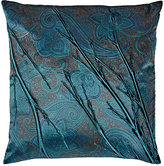 Aviva Stanoff Willow-Pressed Velvet Pillow