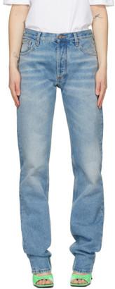 ATTICO Blue Boyfriend Jeans