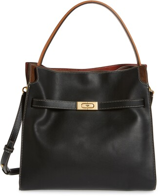 Tory Burch Lee Radziwill Leather Double Bag