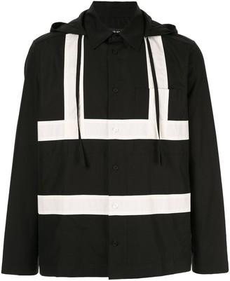 Craig Green hooded button shirt