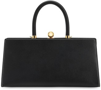 Ratio et Motus Sister Frame Leather Top Handle Bag