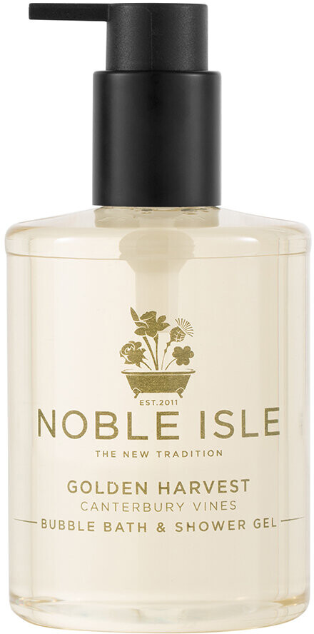Noble Isle - Golden Harvest Bubble Bath & Shower Gel - 250ml