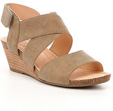 Me Too Adam Tucker by Toree Leather Wedge Sandals