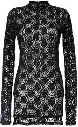 Taylor Baseline lace top