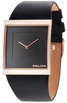 Police Skyline Black Strap Watch