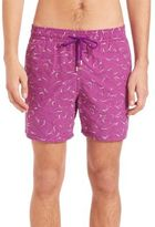 Vilebrequin Mistral Embroidered Shark Swim Shorts