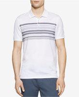 Calvin Klein Men's Slim-Fit Striped Polo