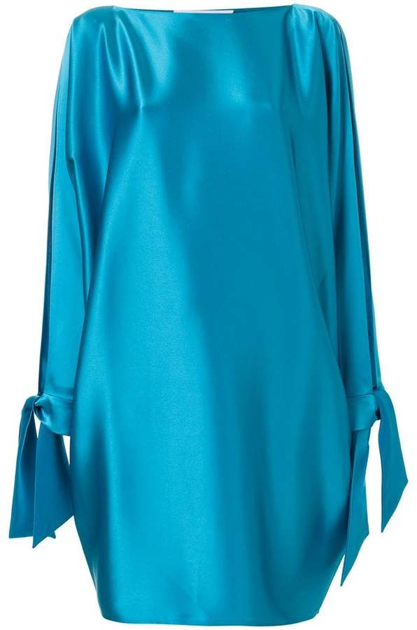 Gianluca Capannolo draped sleeves dress