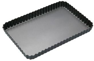 Cake Soffritto 31cm Rectangular Loose Base Fluted Pan
