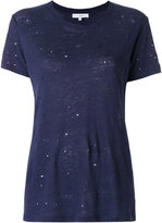 IRO Clay distressed T-shirt - women - Linen/Flax - S