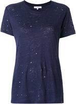 IRO Clay distressed T-shirt - women - Linen/Flax - XS