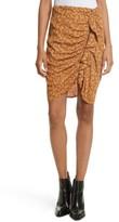 Veronica Beard Women's Spencer Ruched Miniskirt