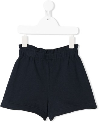 Il Gufo Paperbag High-Waisted Shorts