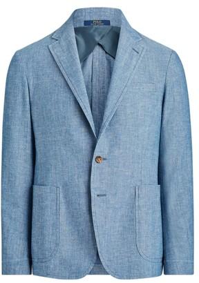 Ralph Lauren Morgan Chambray Suit Jacket