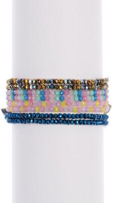 Ayounik Crystals Bracelet & Choker Set