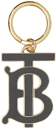 Burberry Monogram Motif Gold-plated Key Charm