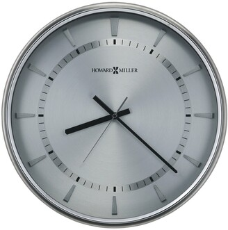 Howard Miller Chronos Watch Dial III, Silver, Modern, Contemporary, Glam Wall Clock, Reloj de Pared