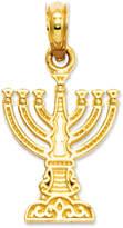 Macy's 14k Gold Charm, Menorah Charm