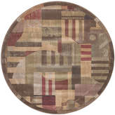 Nourison Mix It Carved Indoor Round Rug
