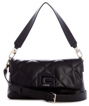 GUESS Brightside Quilted Shoulder Bag