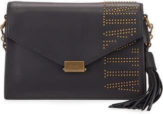 AllSaints Nina Studded Logo Crossbody Bag