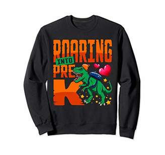Roaring Pre-K Dinosaur Back to School Backpack Boys Sweatshirt