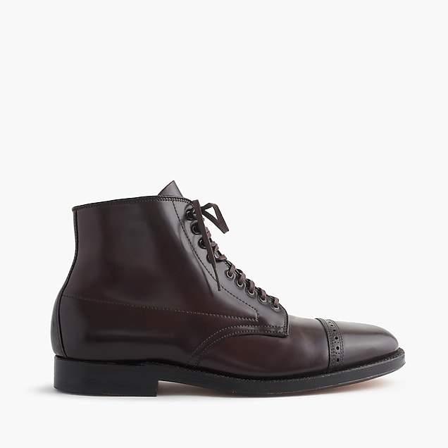 J.Crew Alden® cap-toe cordovan boots