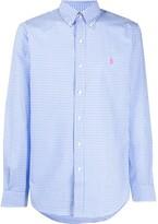 Polo Ralph Lauren embroidered logo checked shirt