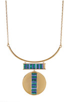 Botkier Stone Accented Large Pendant Necklace