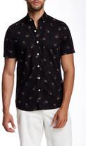 Kennington Cowboy Print Woven Short Sleeve Shirt