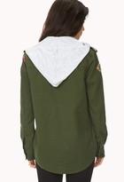 Forever 21 Brooklyn Troop Army Jacket