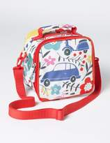 Printed Lunch Bag Blooming Traffic Girls Boden