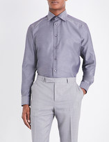 Eton Contemporary-fit cotton-twill shirt