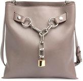 Alexander Wang Attica Chain Crossbody Bag, Gray