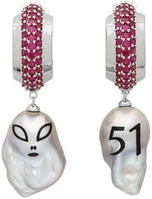Jiwinaia Pink Alien Ultimate Earrings