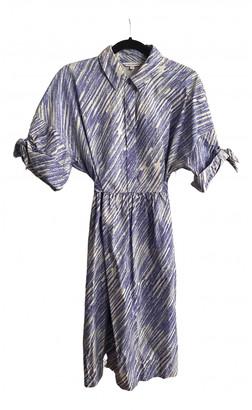 Vika Gazinskaya Blue Cotton Dresses