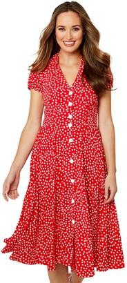 Joe Browns Flattering Button Through Dress