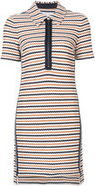 Veronica Beard striped polo dress - women - Cotton - XS