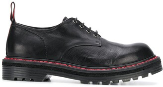 Premiata Ridged Sole Derby Shoes
