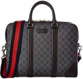Gucci Gg Supreme Canvas Briefcase