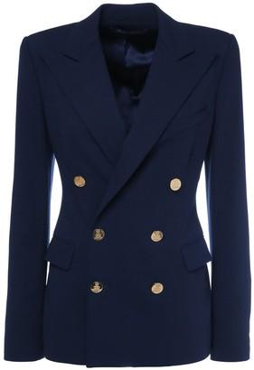 Ralph Lauren Collection Wool Crepe Double Breast Camden Jacket