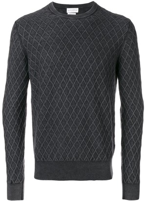 Ballantyne geometric pattern jumper
