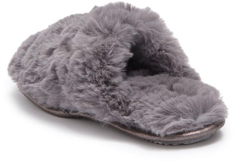 Sg Footwear Plush Faux Fur Slipper