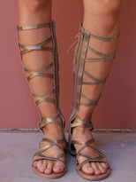 West Coast Wardrobe Monica Gladiator Sandal in Bronze
