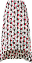 Marni Garland print runway skirt - women - Cotton - 42