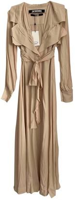 Jacquemus Le Souk Beige Dress for Women
