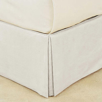 OKA Bed Valance Cotton, Single - Off White