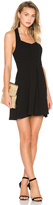 BCBGeneration Seamed Halter Dress